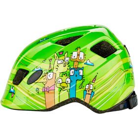 Cube Pebble - Casco de bicicleta Niños - verde/Multicolor